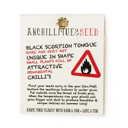 Black scorpion tongue